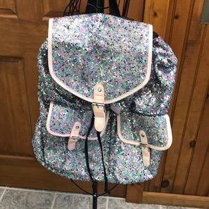 NWT- Justice Sequins Backpack